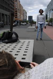 Drehen am Potsdamer Platz